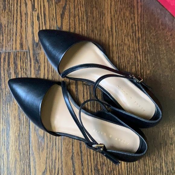 DSW Shoes | Kelly Katie Black Flats
